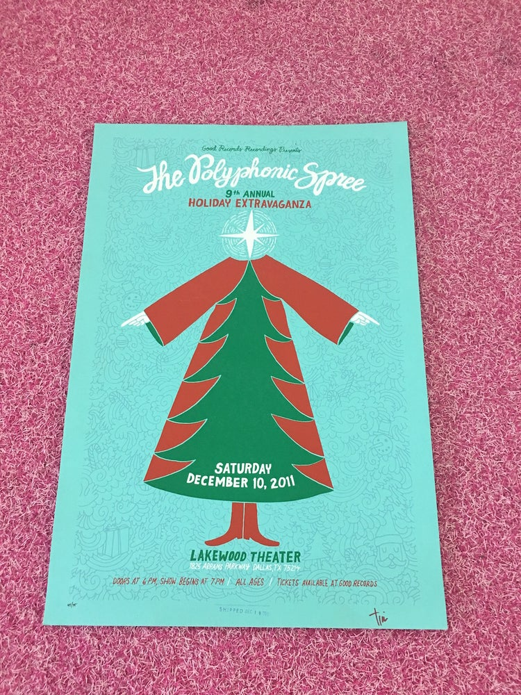 Image of 9th Annual Holiday Extravaganza Poster (Bryant)