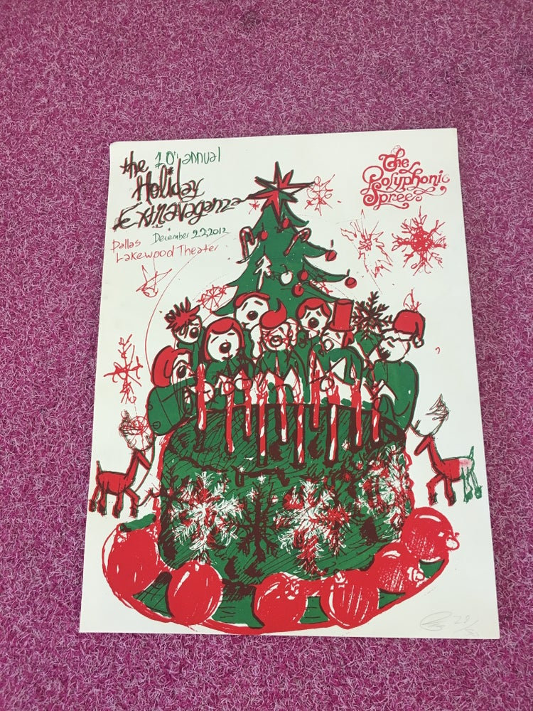 Image of 10th Annual Holiday Extravaganza Poster (Nevada)