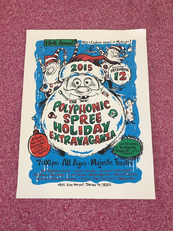 Image of 13th Annual Holiday Extravaganza Poster (Bubba)