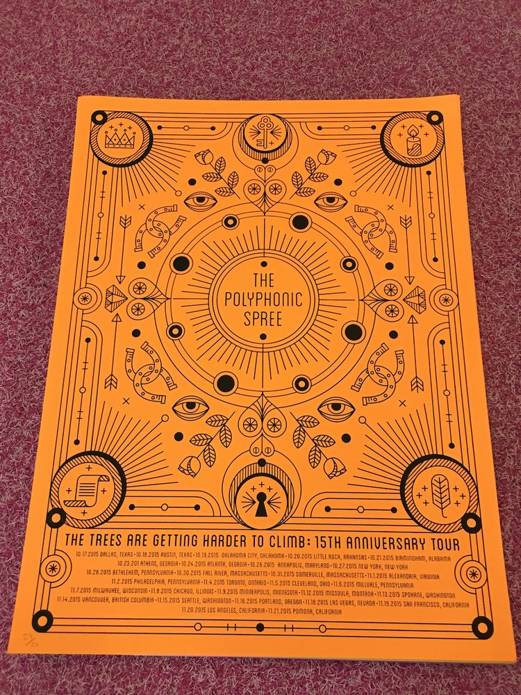 Image of 15th Anniversary Tour Poster