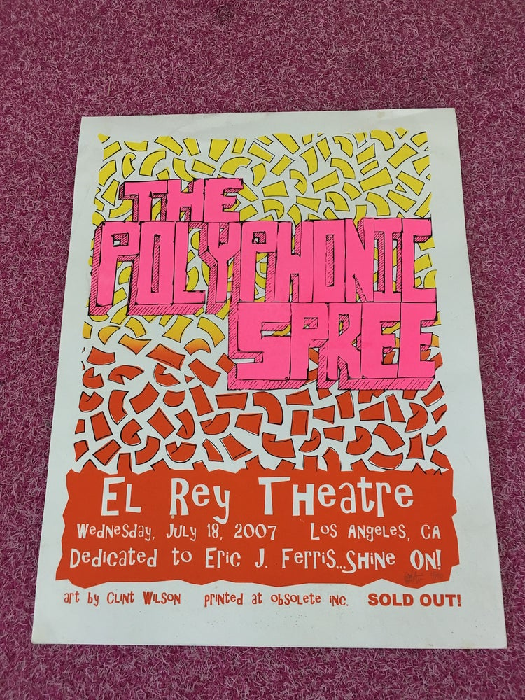 Image of El Rey Theatre Poster