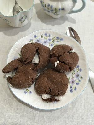 Image of Chocolate Cloud Cookies - TWO DOZEN