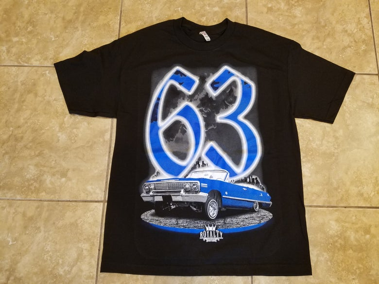 Image of 63 impala blue