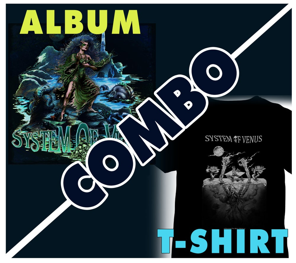 Image of System Of Venus CD & T-shirt COMBO