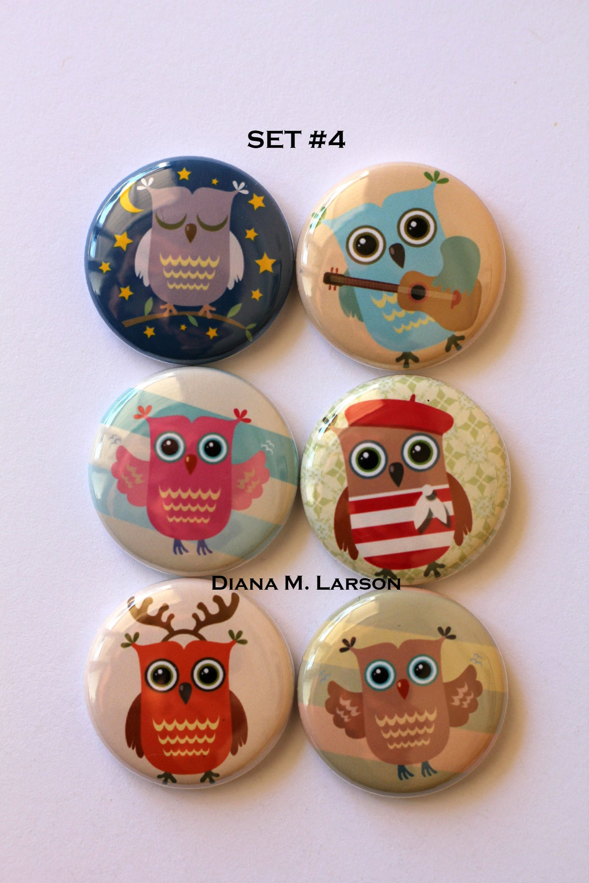 Image of OWL Flair Buttons