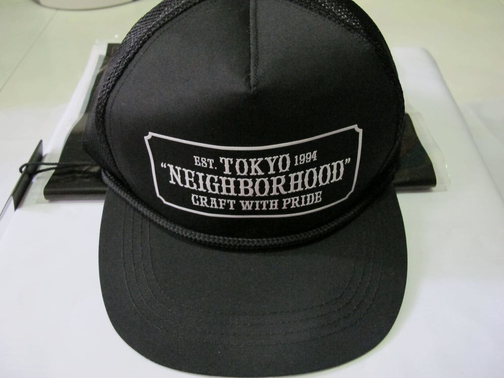 Image of Neighborhood - Bar & Shield Cap (Black)