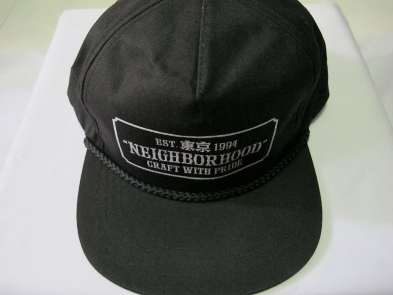 Image of Neighborhood - Bar Cap (Black)