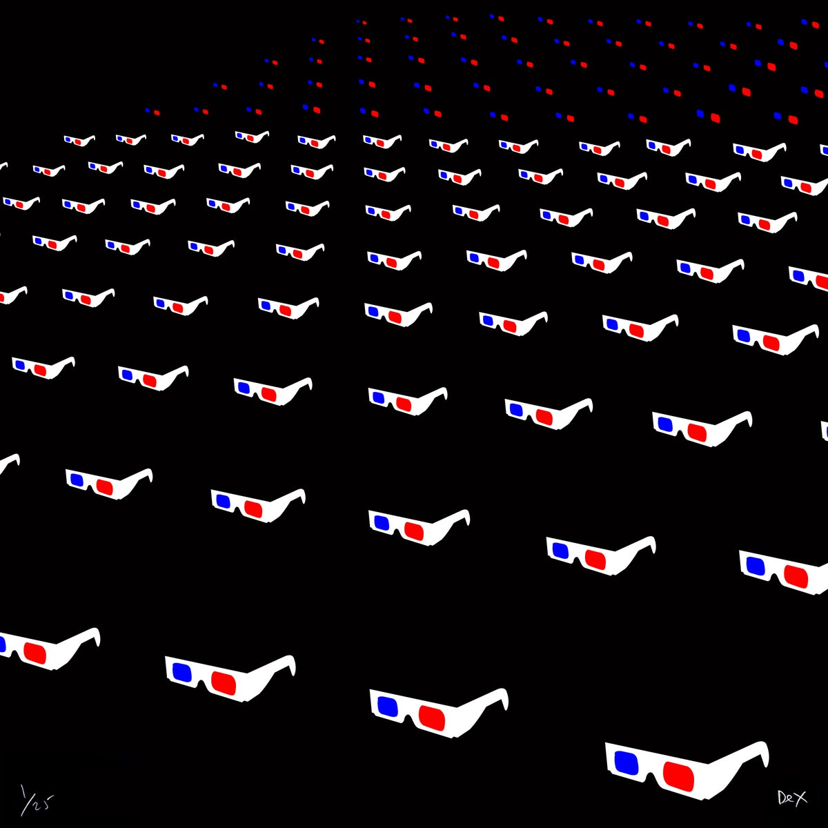 Image of Red/Blue Audience
