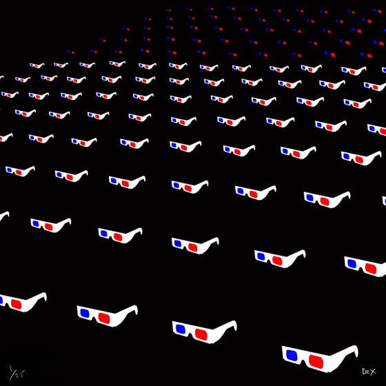 Image of Red/Blue Audience (2017)