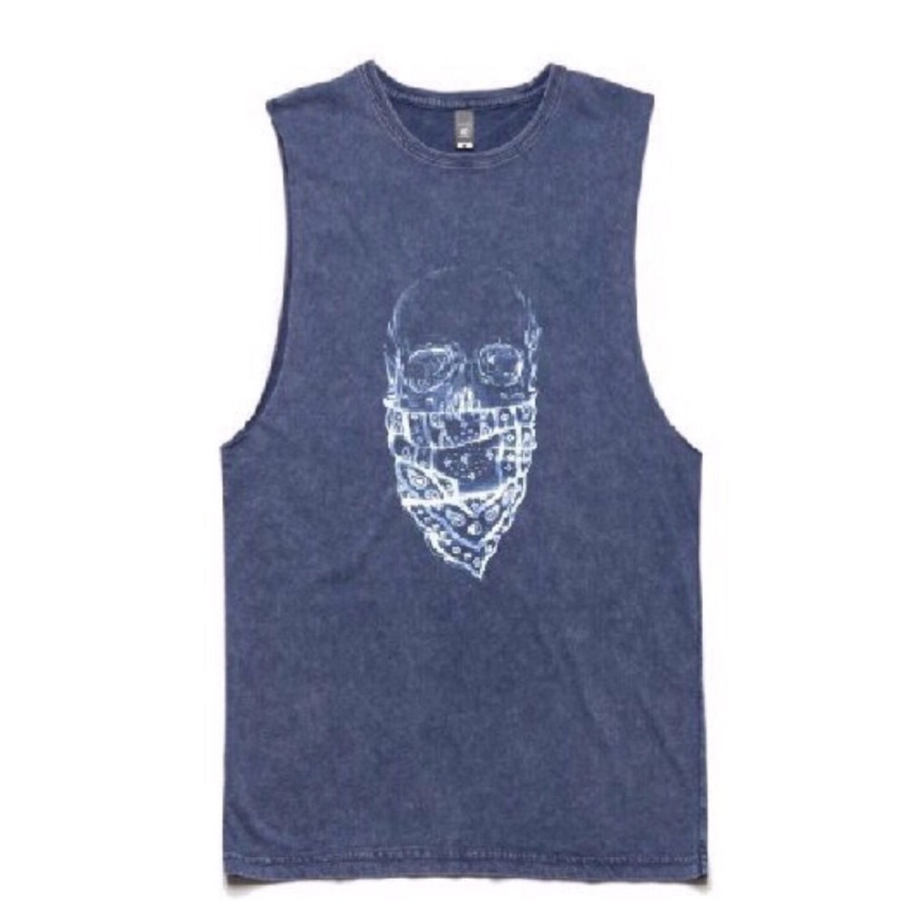 Image of REPPIN Denim Acid Muscle Tee