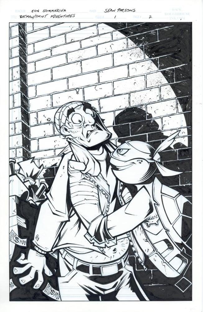 Image of Batman TMNT Adventures 1 Page 02