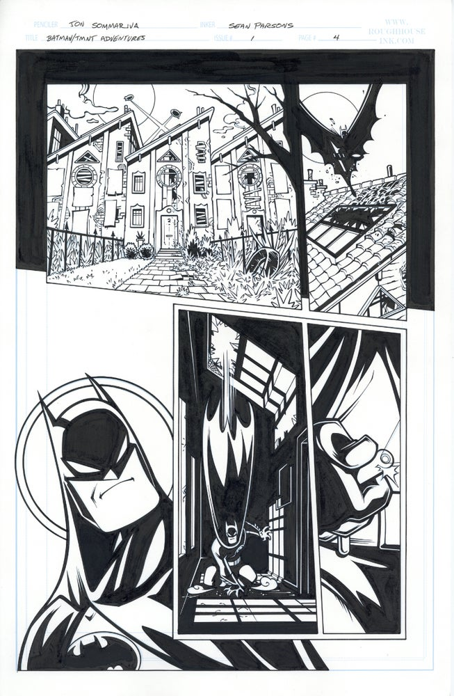 Image of Batman TMNT Adventures 1 Page 04
