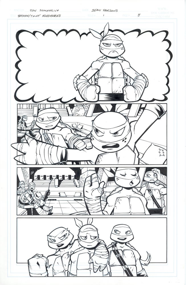 Image of Batman TMNT Adventures 1 Page 08