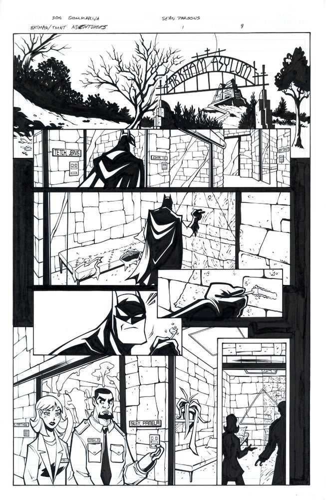 Image of Batman TMNT Adventures 1 Page 09