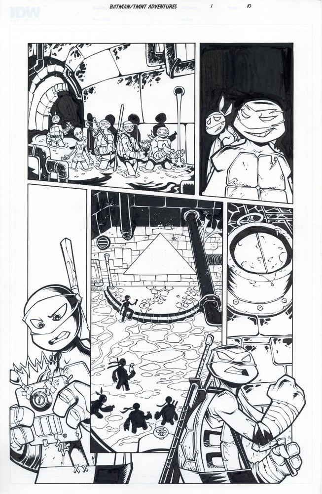 Image of Batman TMNT Adventures 1 Page 10
