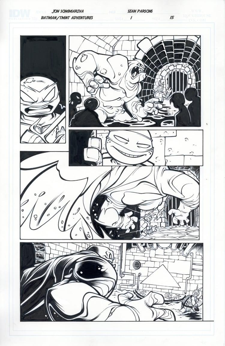 Image of Batman TMNT Adventures 1 Page 15