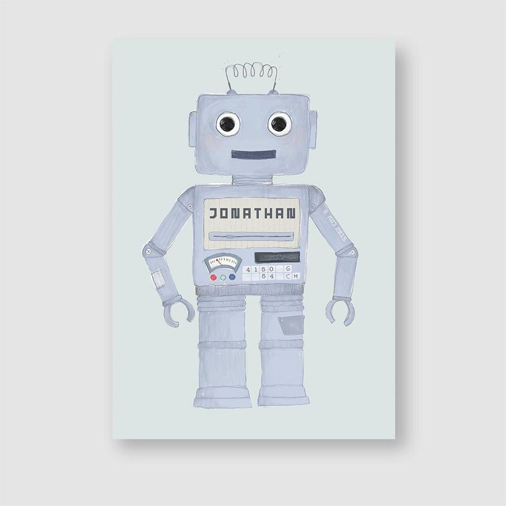 Image of Robot, fødselstavle