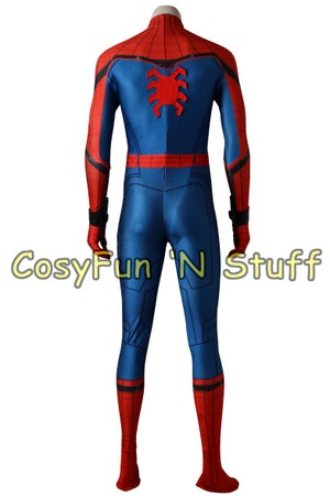 Image of Spider-Man Homecoming Peter Parker Superhero Complete Cosplay Costume
