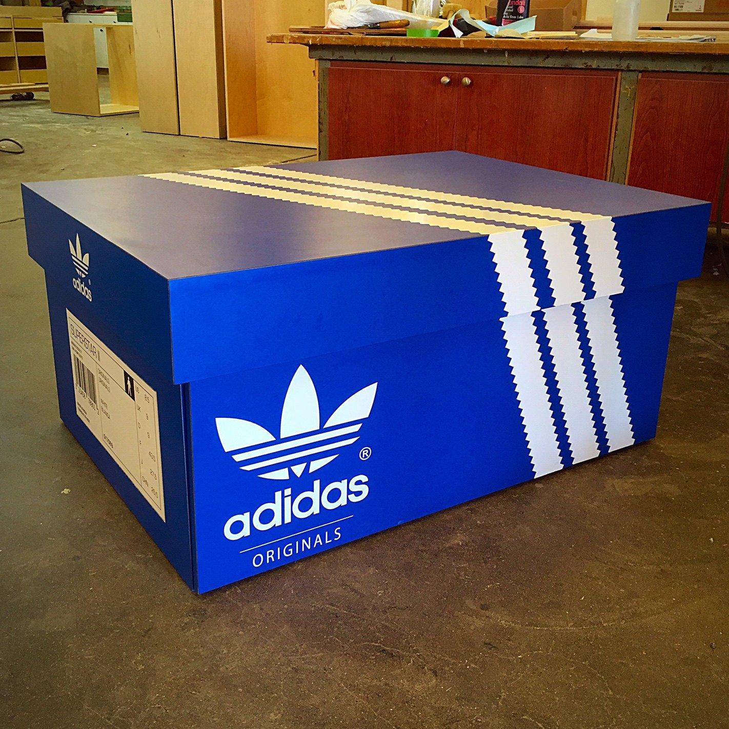Adidas Shoe Box | TopFlightBoxes