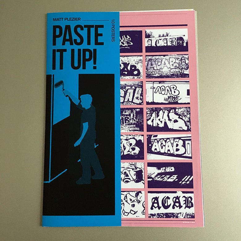 Image of poster set: Paste It Up!