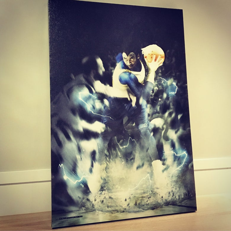 "Image of ""PRINCE OF SAIYANS"" CANVAS"