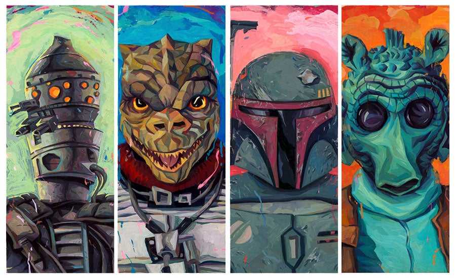 Image of Bounty Hunters Individual MINI Prints