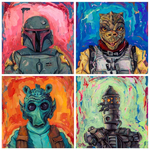 Image of Bounty Hunters Group Print