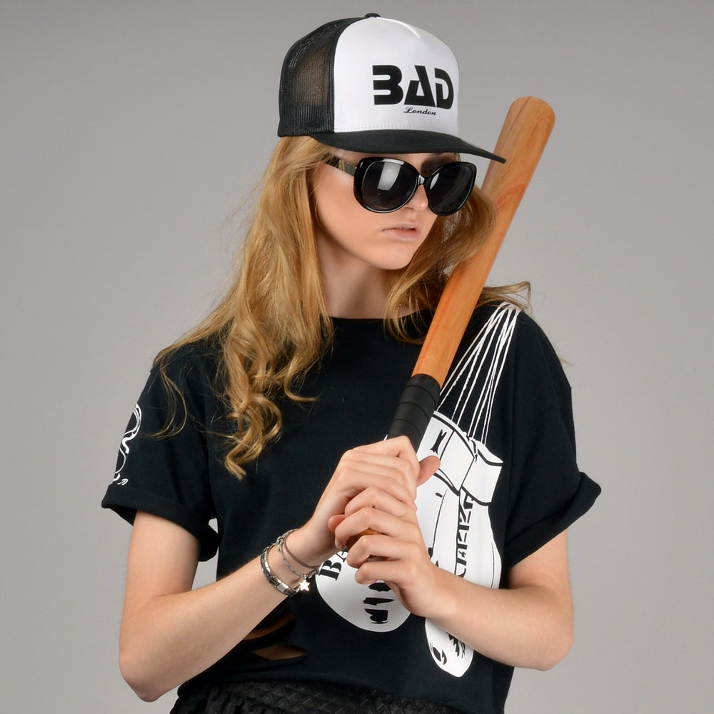 Image of Bad clothing London Premium Street Wear Couture and Fitness Fashion Trucker Snapback