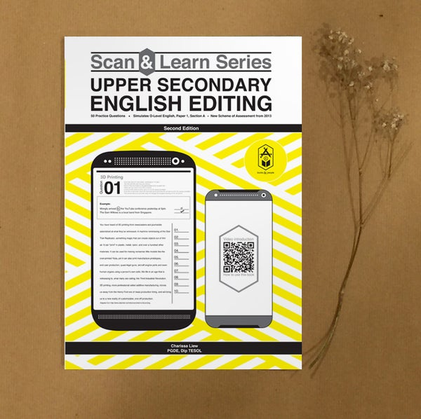 Image of Scan & Learn Series • Upper Secondary English Editing (2nd Edition)