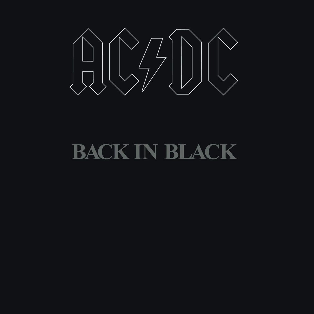 Image of ACDC   BACK IN BLACK