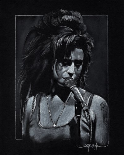 Image of Amy Winehouse 8x10 Print