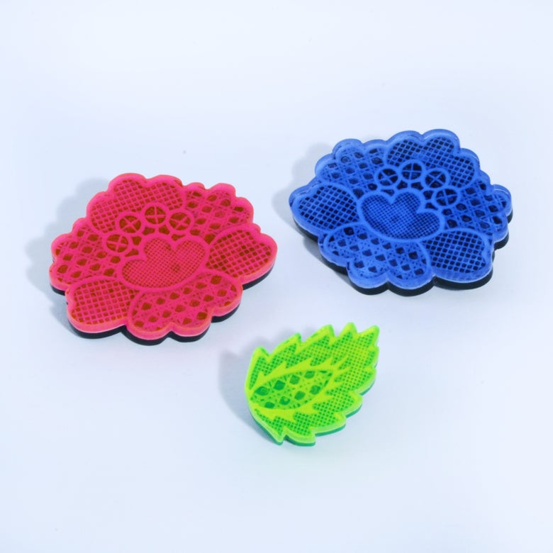 Image of Lace Brooches