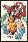 Wolverine Deadpool A3 Print