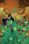 Batman and Leo VS Scarecrow A3 Print