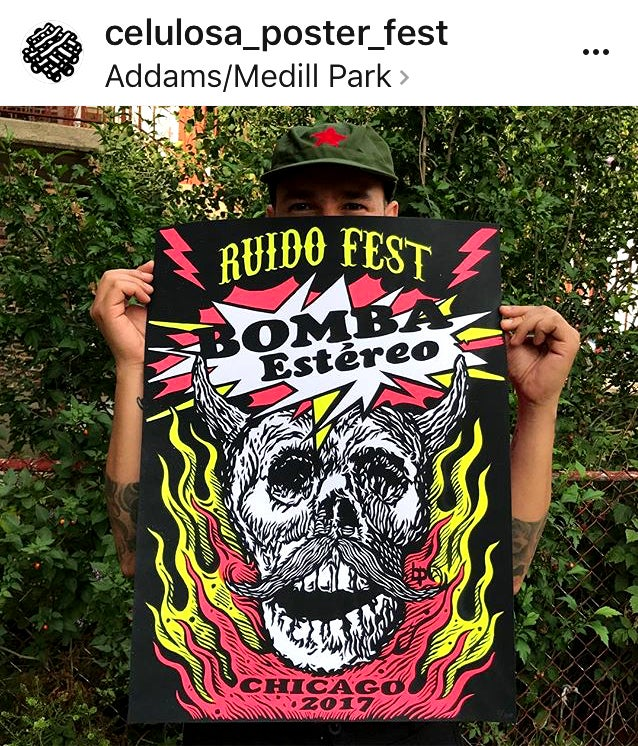 Image of Bomba Estereo Poster