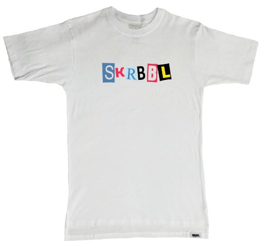 Image of SKRBBL Serial Collage Tee
