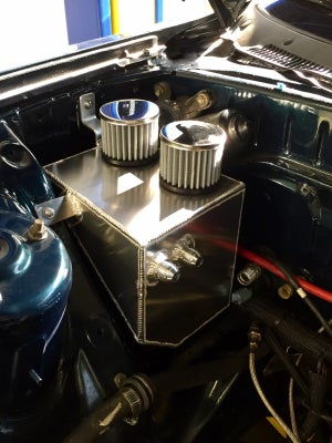 Image of RX7 FD3S Oil Catch Can