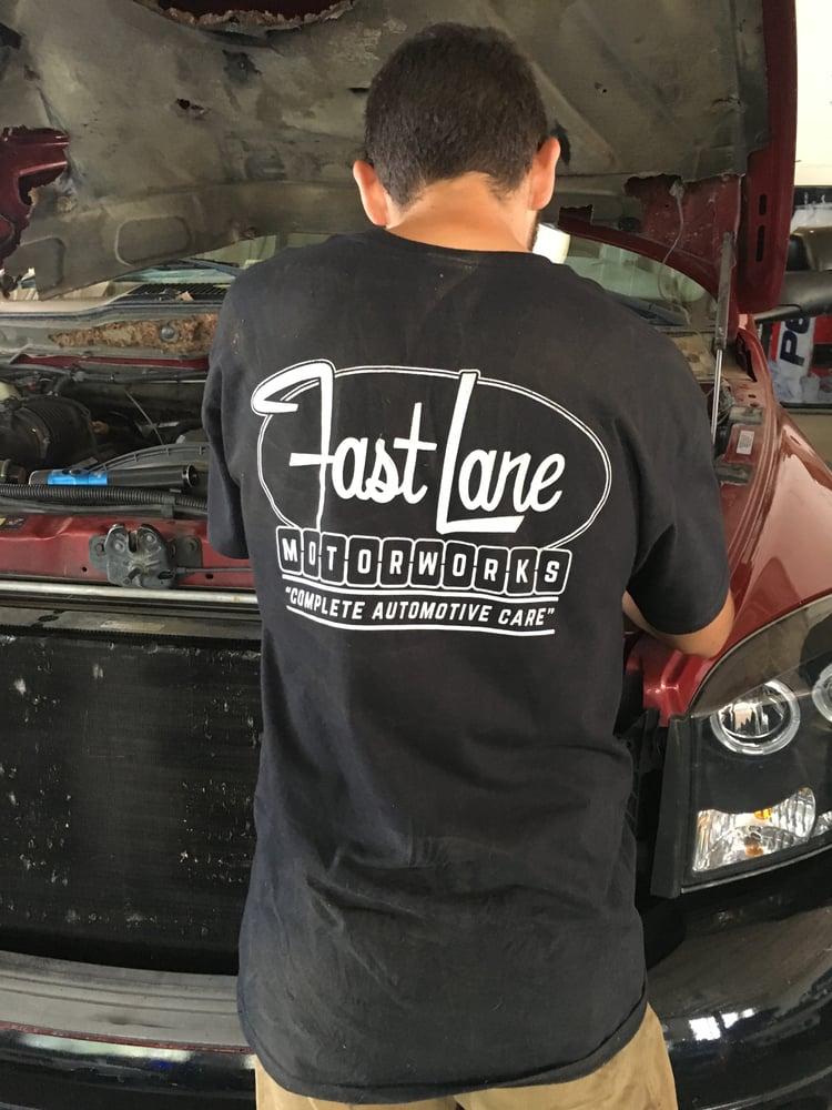 Image of Fast Lane Logo T-shirt