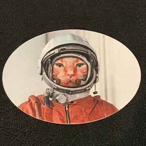 Image of Catstronaut Sticker