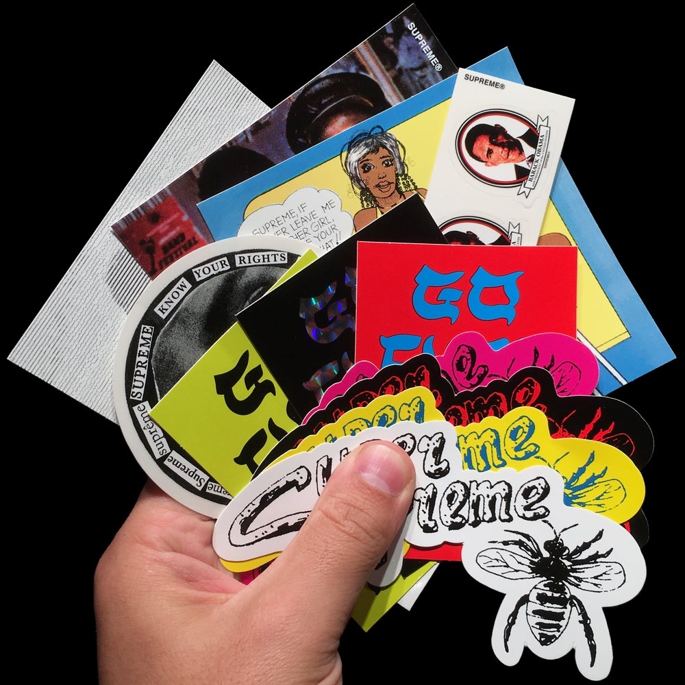 Image of 2017 SS Stickers (Go Fuck Yourself)