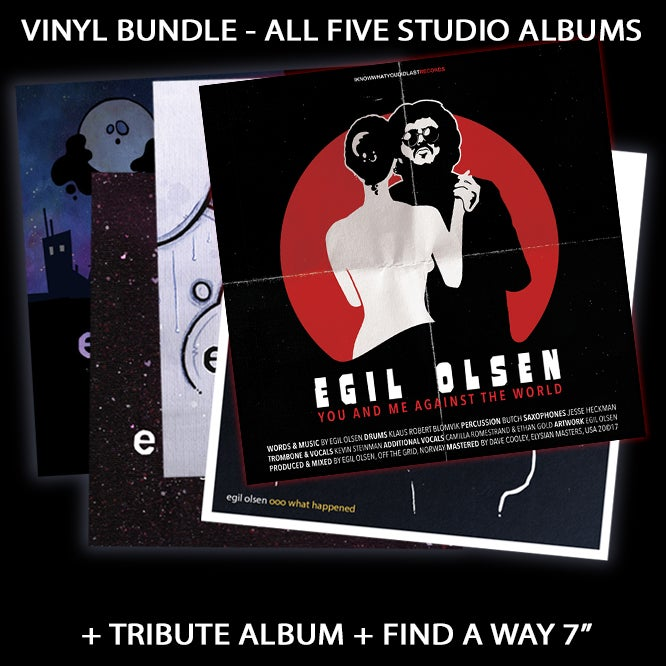 Image of VINYL BUNDLE (ALL STUDIO ALBUMS + +)