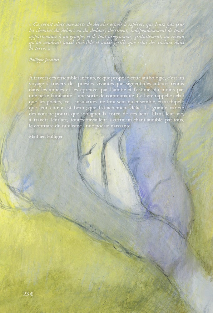 "Image of ""POESIE NAISSANTE"" - Une anthologie contemporaine inédite"