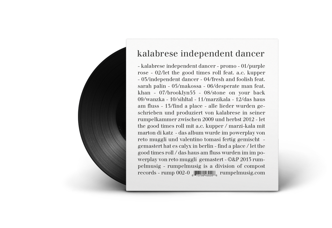 Image of Kalabrese «Independent Dancer»