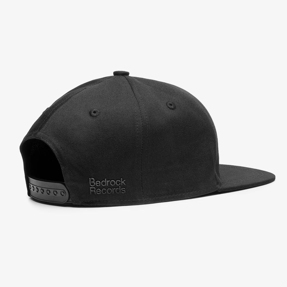 Image of Bedrock Frequency Snapback Hat in Black