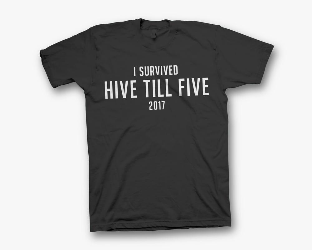 Image of I Survived Hive Till Five 2017