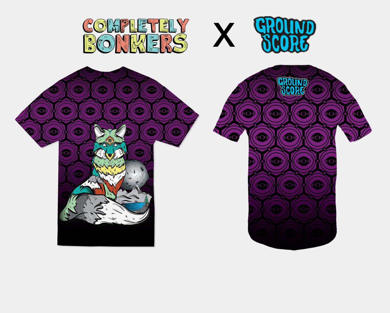 Completely Bonkers - Zen Fox Shirt