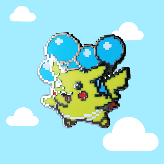 Image of 8bit OG Flying Pika *NEW*
