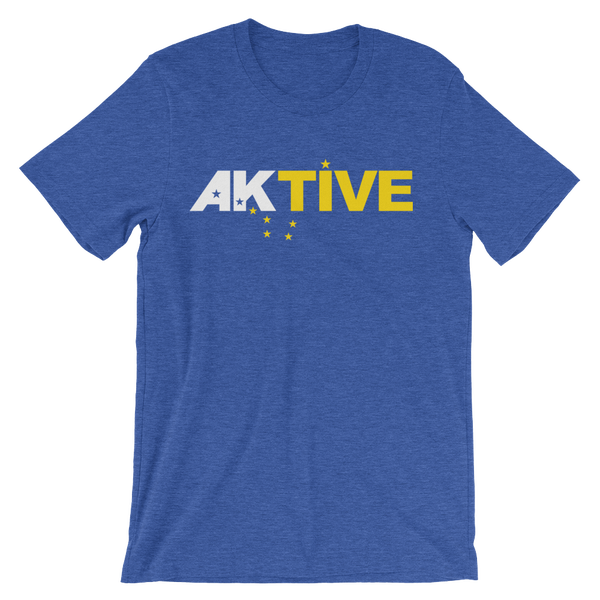Image of Men's AKtive Tee - Blue