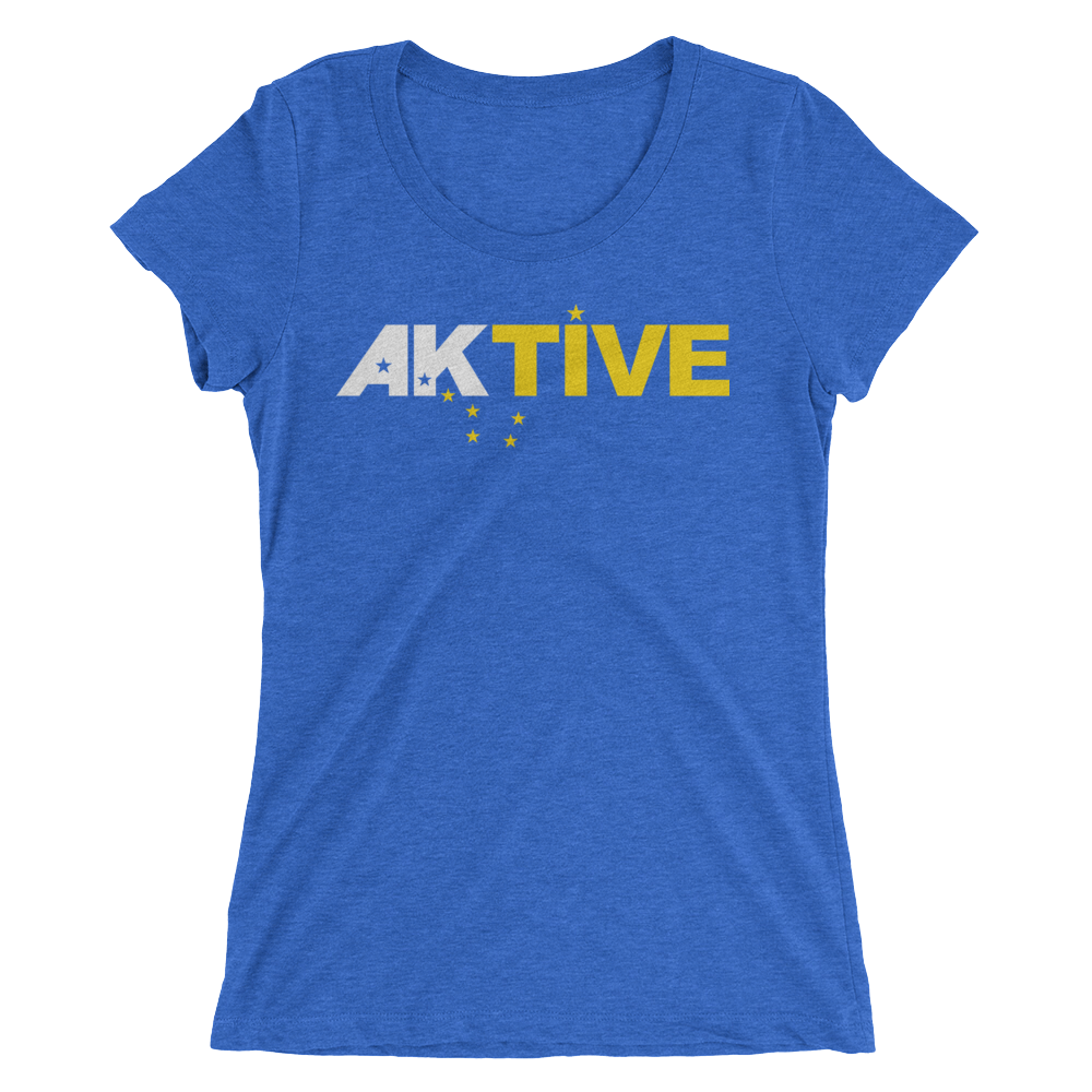 Image of Women's AKtive Tee - Blue