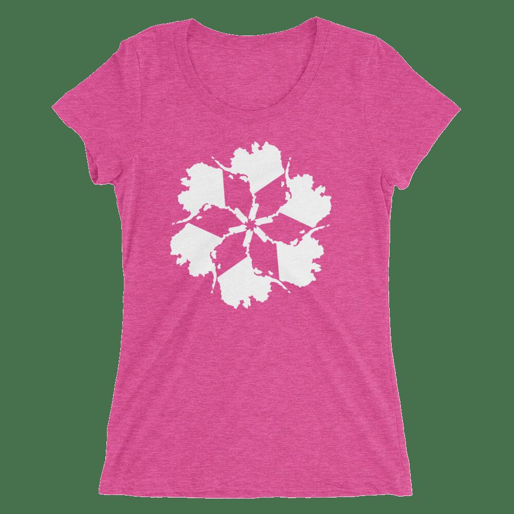 Image of Women's Alaska Spiral Tee - Pink